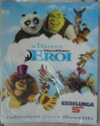 Album Vuoto Eroi DreamWorks - Per La Raccolta Di Card - Edizione Esselunga 2012 - Carte Da Gioco