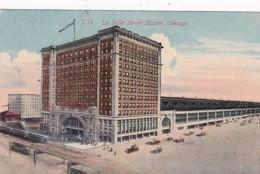 Illinois Chicago La Salle Street Station 1914
