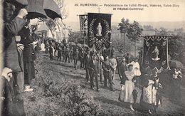 CPA 29 RUMENGOL PROCESSIONS DE SAINT RIVOAL HANVEC SAINT ELOY ET HOPITAL CAMFROUT - France