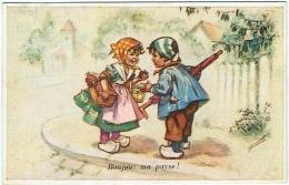 "Illustrateur : G.Bouret. Enfants. ""Bonjour Ma Payse"" - Bouret, Germaine"