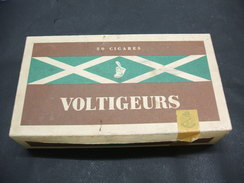 BOITE Carton 50 Cigares Vide VOLTIGEURS - Sigarenkokers