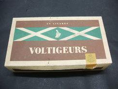 BOITE Carton 50 Cigares Vide VOLTIGEURS - Zigarrenetuis