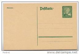 DR P204 I Postkarte RHEINLAND ** 1925  Kat. 3,50 € - Deutschland