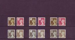 Gran Bretagna 1993 - Regionali, 12v MNH** Integri - 1952-.... (Elisabeth II.)