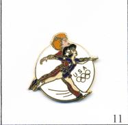 Pin's Sport - Jeux Olympiques / Equipe USA De Patinage Artistique. Est. Usoc 36 Usc 380. EGF. T547-11 - Jeux Olympiques