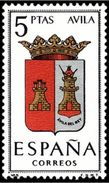 ESPAÑA 1962 - ESCUDOS DE PROVINCIAS - AVILA - EDIFIL Nº 1410** YVERT Nº 1082A - 1931-Aujourd'hui: II. République - ....Juan Carlos I