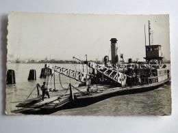 FRANCIA FRANCE QUILLEBEUF SUR SEINE Depart Du Bac CPA Old Postcard - Altri Comuni