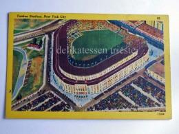 USA NEW YORK CITY YANKEE STADIUM Baseball Old Postcard - Bronx