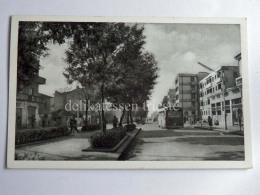 ALBANIA TIRANA Konferenca E Pezes Strasse BUS Old Postcard - Albania