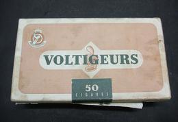 BOITE Carton 50 Cigares Vide VOLTIGEURS - SEITA Régie Française - Cigar Cases