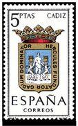 ESPAÑA 1962 - ESCUDOS DE PROVINCIAS - CADIZ - EDIFIL Nº 1416** YVERT Nº 1117** - 1931-Aujourd'hui: II. République - ....Juan Carlos I