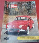 L'action Automobile Et Touristique Juin 1960 Couverture Dauphine Gordini, 404, 24 Heures Du Mans, Grand Prix ACF à Reims - Auto/Motor