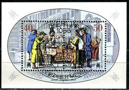 DDR - Michel Block 88 = 3120 / 3121 - OO Gestempelt (B) - 40-50Pf  Leipziger Herbstmesse 87 - [6] Oost-Duitsland