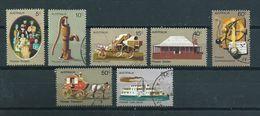 1972 Australia Complete Set First Habitants Used/gebruikt/oblitere - 1966-79 Elizabeth II