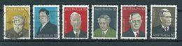 1975 Australia Complete Set Famous Persons Used/gebruikt/oblitere - 1966-79 Elizabeth II