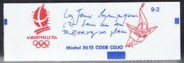 Leco - France Carnet Yv 2114-C10 MNH Neufs - Albertville 1992 - Usage Courant