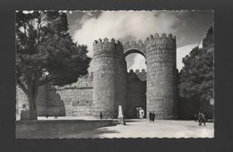 Postcard SPAIN 1950years ESPAÑA ESPANA AVILA PUERTA DE SAN VICENTE - Postcards