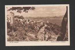 BRAZIL RIO DE JANEIRO COLINA ST. TERESA Postcard Advert CASINO COPACABANA BRASIL - Postcards