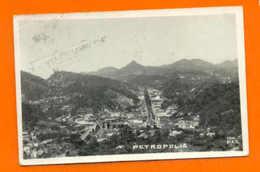 POSTCARD BRAZIL BRASIL PETROPOLIS GENERAL VIEW 1950s - Postcards