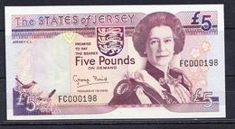 JERSEY 2000  5 POUNDS(LIBRAS) ELISABETH II NUEVO SIN CIRCULAR.VOIR PHOTO.B1072 - Jersey