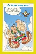 ART POSTCARD COMICS COMIC ASTÉRIX LE COMBAT DES CHEFS - Comics