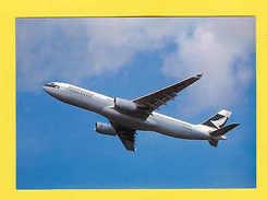CATHAY PACIFIC AIRPLANE HONG KONG CHINA POSTCARD Aircraft Avions Airplanes - Unclassified