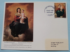 The Madonna And Child - Bartolome Esteban MURILLO ( First Day Of Issue ) 1967 ( Zie Foto ) ! - Cartes-Maximum (CM)