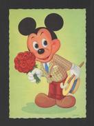 ART POSTCARD 1950years WALT DISNEY  MICKEY MOUSE COMICSB XX - Comics