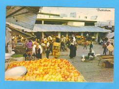 POSTCARD ISRAEL BETHLEHEM MARKET PLACE 1970 YEARS - Postcards