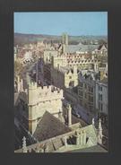 Postcard 1960years UK UNITED KINGDOM THE HIGH OXFORD Issue A. DIXON - Schools