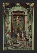 CHURCH BOM JESUS CHRIST CRUCIFIXION ART POSTCARD 1960years BRAGA PORTUGAL MINHO - Religions & Beliefs