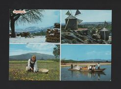 MINHO 1960 Years Postcard PORTUGAL WINDMILL MILLS CONTRY SCENE BOATS BOATS - Postcards