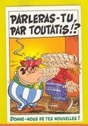 ART POSTCARD COMICS COMIC ASTÉRIX CHEZ LES BRETONS ASTERIX COMIC - Comics