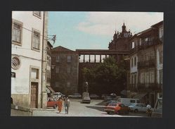 PORTUGAL VISEU 1980 Years Postcard OPEL Cars Car FIAT DATSUN  Automobiles Z1 - Postcards