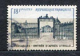 5446  - FRANCE   N°  988 °  18Fr Brun-lilas, Bleu-noir Et Bleu   Grille D'entrée Du Château De Versailles      TB - France