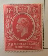 East Africa & Uganda   - MH*   - 1912-1918   - # 42 - Kenya, Uganda & Tanganyika