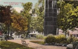 Michigan Albion Scene In Washington Park 1913