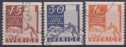 SUECIA 1948 Nº 341/43 USADO - Sweden