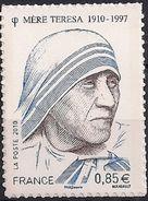 2010 Frankreich   Mi. 4869 **MNH   100. Geburtstag Der Mutter Teresa. Selbstklebend; - Francia