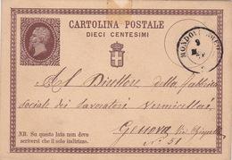Filagrano C 1 Von Mondovi (ak1079) - 1861-78 Vittorio Emanuele II