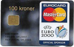 @+ Danemark - Danmont - Euro 2000 - MasterCard - Ref : DD226 - Danemark