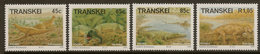 TRANSKEI 1993 Pre-historic SG 201-4 UNHM #ACG231 - Transkei