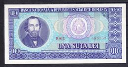 RUMANIA 1966.  100 LEI  PICK Nº 97  NUEVO. UNCIRCULATED .B1076 - Romania