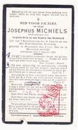 DP Josephus Michiels ° Maxenzele Mazenzele Opwijk 1844 † Merchtem 1926 X V. Arijs Xx R. Van Humbeeck - Devotion Images
