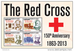 CANOUAN Of ST.VINCENT ; SCOTT # ; IGPC 1306 SH ; MINT N H STAMPS (  RED CROSS - St.Vincent Und Die Grenadinen