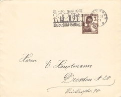 MWST 200 Jahre Universität Göttingen 1937 - Allemagne