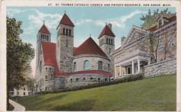 Michigan Ann Arbor St Thomas Catholic Church and Priests Residen