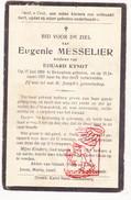 DP Eugenie Messelier ° Bekegem Ichtegem 1858 † 1927 X Eduard Kyndt - Devotion Images