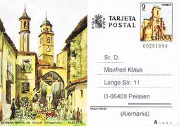 Spanien Bildpostkarte - Karwoche In Hellin - Tourismus, Architektur, Brauchtum, Religion, Katholische Religion - Ganzsachen
