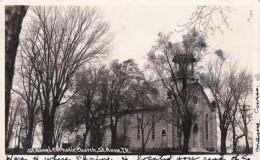 Illinois St Anne St Anne's Catholic Church 1945 Real Photo
